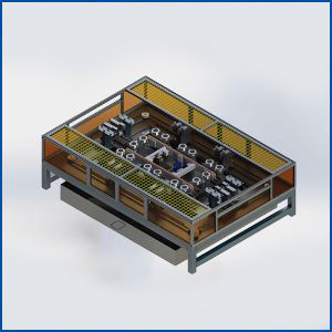 Servo Automatic Solar Cell Module Trimming Machine