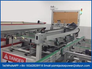 Solar PV Modules Servo Full Automatic Robot Template Mould Placing Machines