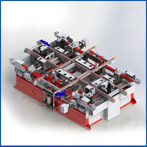 Suppliers Servo Automatic Gluing Framed Aluminium Frame Machine for Solar PV Module